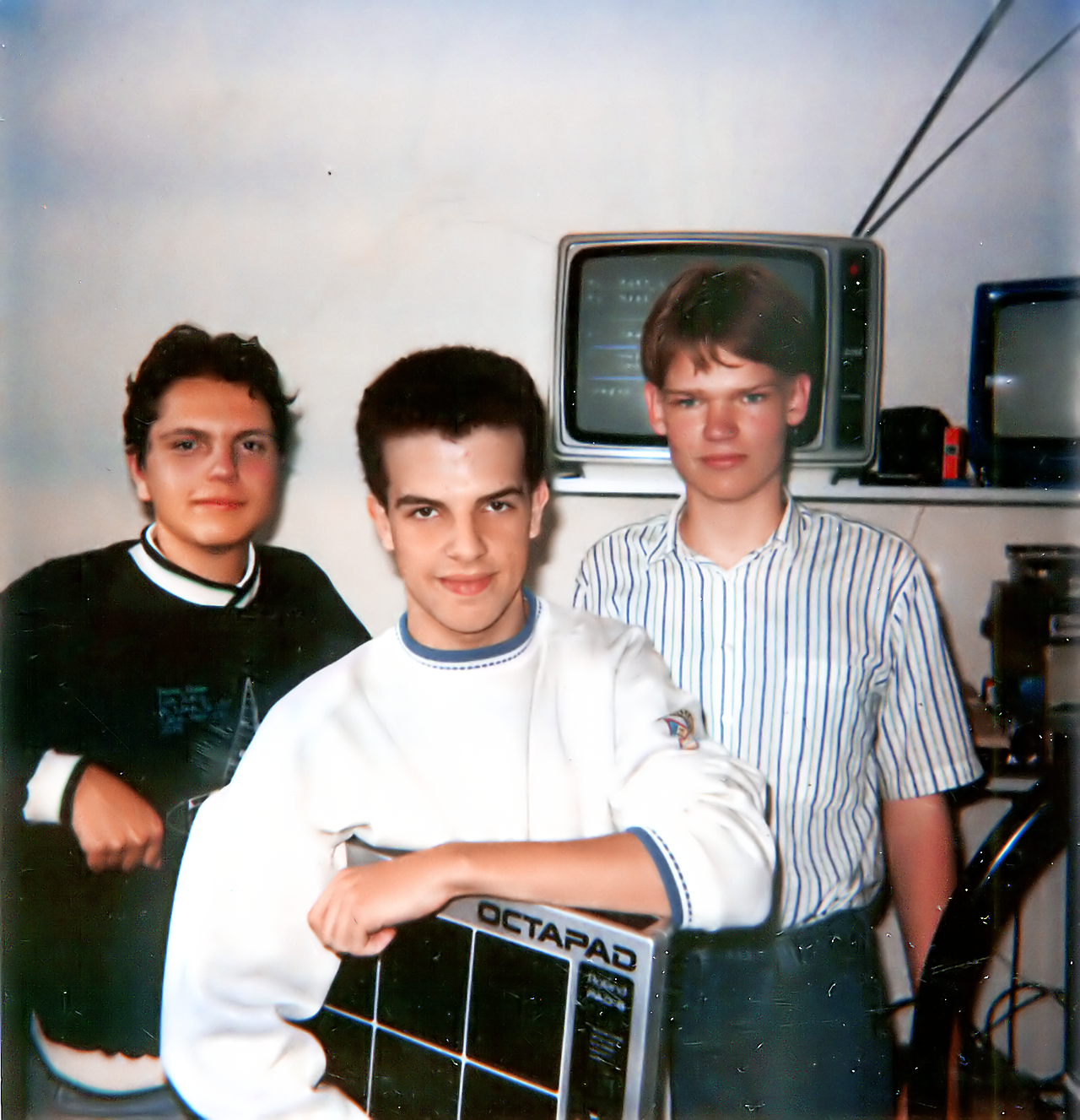 Photo of the Team Hoi Amiga game development team